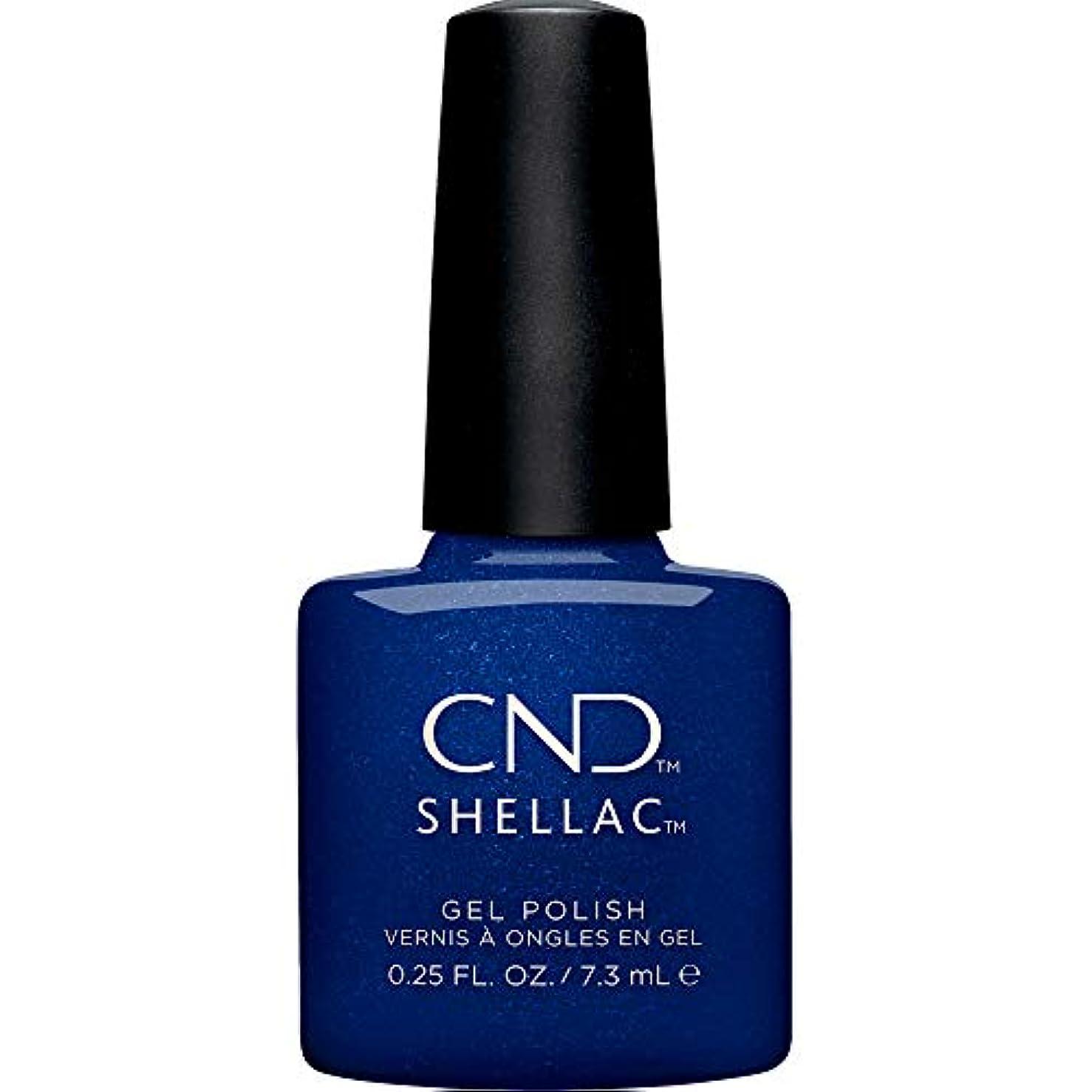 どんよりしたシンクわずかにCND Shellac - Crystal Alchemy Winter 2019 Collection - Sassy Sapphire - 0.25oz / 7.3ml