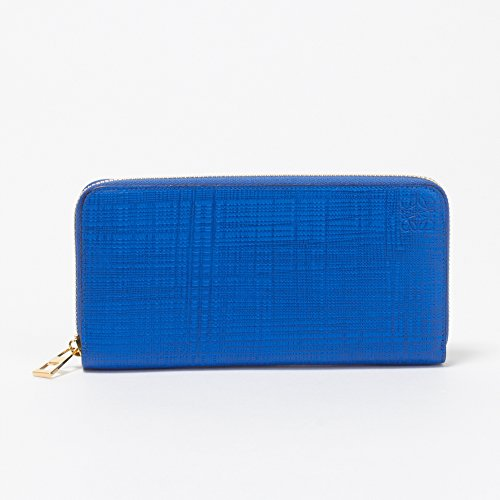 (ロエベ) LOEWE 財布 長財布 101N88.F13 5560 ELECTRIC BLUE 【リネン】 [並行輸入品]