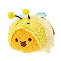 Disney Winnie the Pooh Hachi Pooh2 ''Tsum Tsum'' Plush - Mini - (S) (Japan Import) by Disney [並行輸入品]