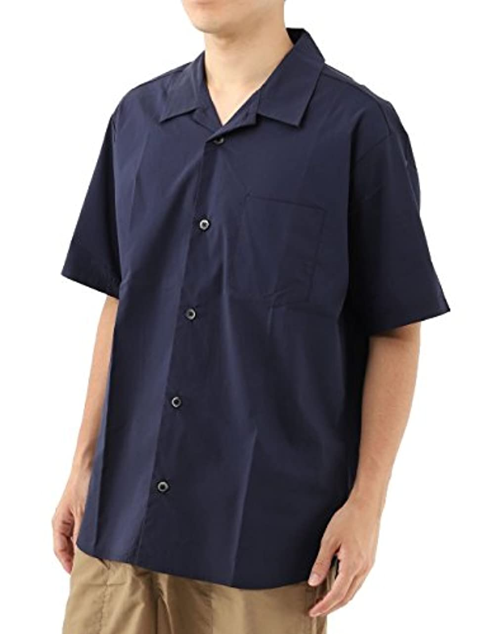 暗記する持続的昇る[ジーパッシオ] G-passio オープンカラーシャツ ビッグシルエット メンズ