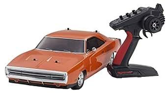 京商 1/10スケール 電動ラジオコントロール 4WDフェーザーMk2 FZ02Lシリーズ レディセット 1970 ダッジ チャージャー 1970 ヘミオレンジ 34417T1