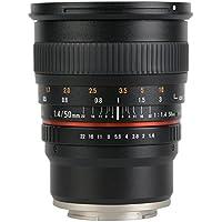 SAMYANG 単焦点標準レンズ 50mm F1.4 ソニー αE用 フルサイズ対応