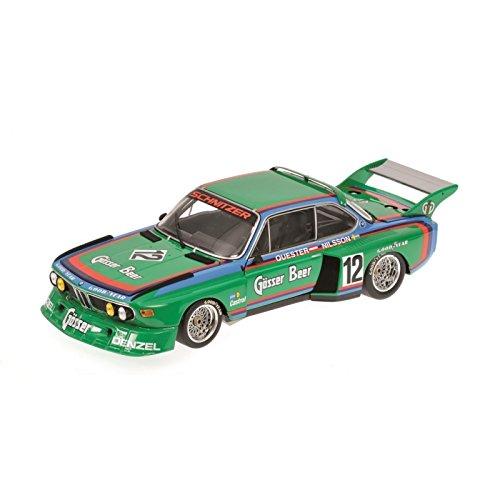 1/18scale ミニチャンプス MINICHAMPS BMW 3.5 CSL-Gruppe 5 6h Zeltweg 1976 Winner Quester/Nilsson チーム シュニッツァー クェスター ニルソン ウイナー グループ5