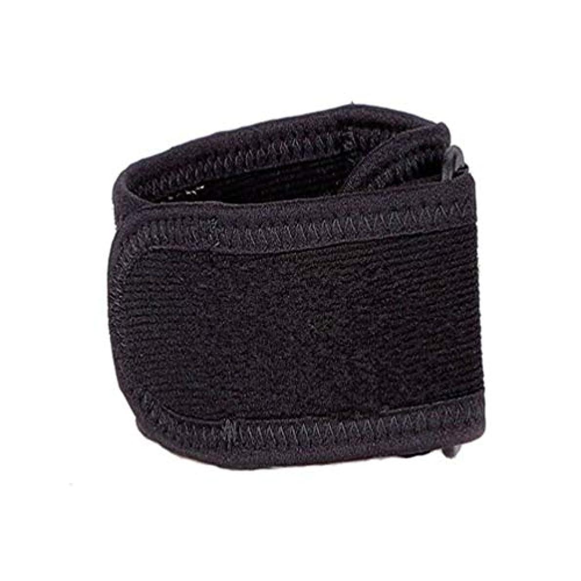 靴下充実拡散する調節可能な ウォームアーム陸上競技ガーディアンスポーツ保護するクラッシュ耐性の弾力性エルボーブレースランスポーツマンディフェンダー - ブラック