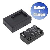 Battpitバットピット™新しいデジタルカメラバッテリー+充電器交換用for Canon LP - e6N ( 1800mAh )