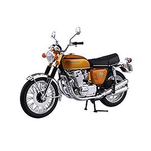 スカイネット 1/12 完成品バイク Honda CB750FOUR (K0) キャンディゴールド
