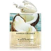 【Bath&Body Works/バス&ボディワークス】 ルームフレグランス 詰替えリフィル(2個入り) バニラココナッツ Wallflowers Home Fragrance 2-Pack Refills Vanilla...