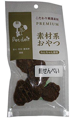 コアシード  ペットデリ 素材系 鮭せんべい 25g
