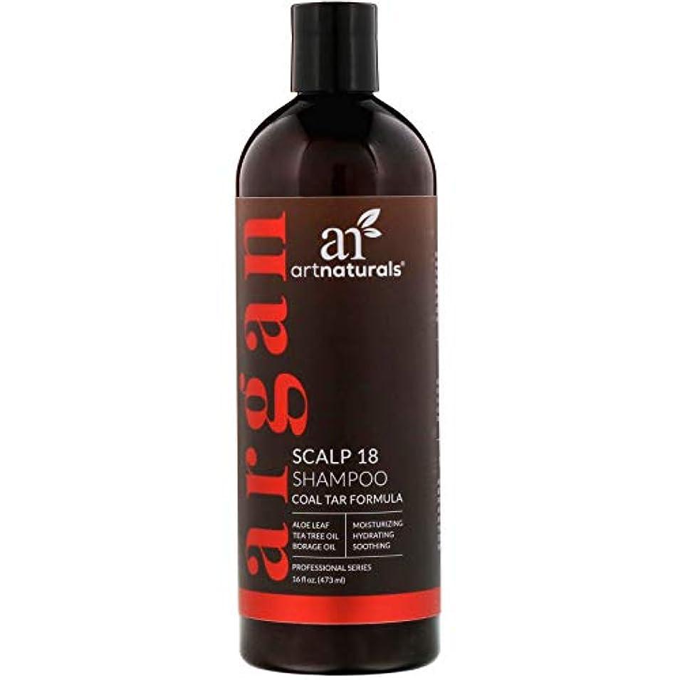 締めるかる逮捕Artnaturals Argan Scalp 18 Shampoo, 16 Ounce