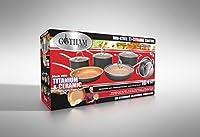 Gotham Steel 10-Piece Kitchen Nonstick Frying Pan and Cookware Set by GOTHAM STEEL