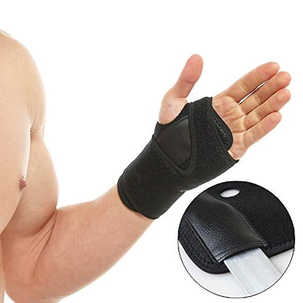 屋内で喜劇あご親指ブレース - 関節炎、腱鞘炎、そしてその他、トリガー親指サポート中括弧のためのスプリントは、男性と女性のための右手と左手の両方に適合します