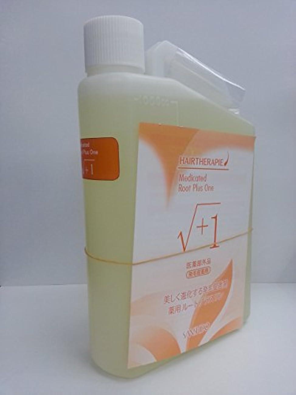 追加する合体カビ三資堂製薬 薬用ルートプラスワンF1000ml(医薬部外品)詰替え リフィル