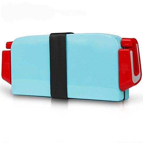 「Bidear」ポータブルチャイルド安全シート 可愛いジュニアシート 3C認証安全高品質 おしゃれ便利折りたたみ 3-12歳の子供に適する