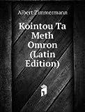 Kointou Ta Meth Omron Latin Edition