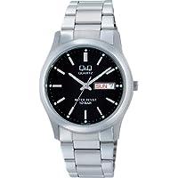 [シチズン Q&Q] 腕時計 Day&Date(デイ&デイト) W470-202 シルバー