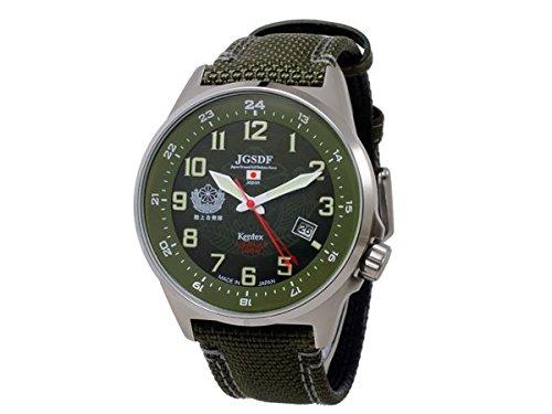 [ケンテックス] KENTEX 腕時計 ソーラー 防衛省 自衛隊 JSDF シリーズ 陸上自衛隊 JGSDF S715M-01 グリーン メンズ