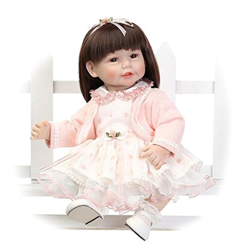 Nicery ラブリーおもちゃ人形高品質ビニール20インチ50cmシミュレーション生きているような女の子のギフト Toy Doll LD50C003B