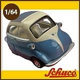 Schuco(シュコー)社ミニカー 452012000 BMWイセッタ ブルー/ベージュ 1/64