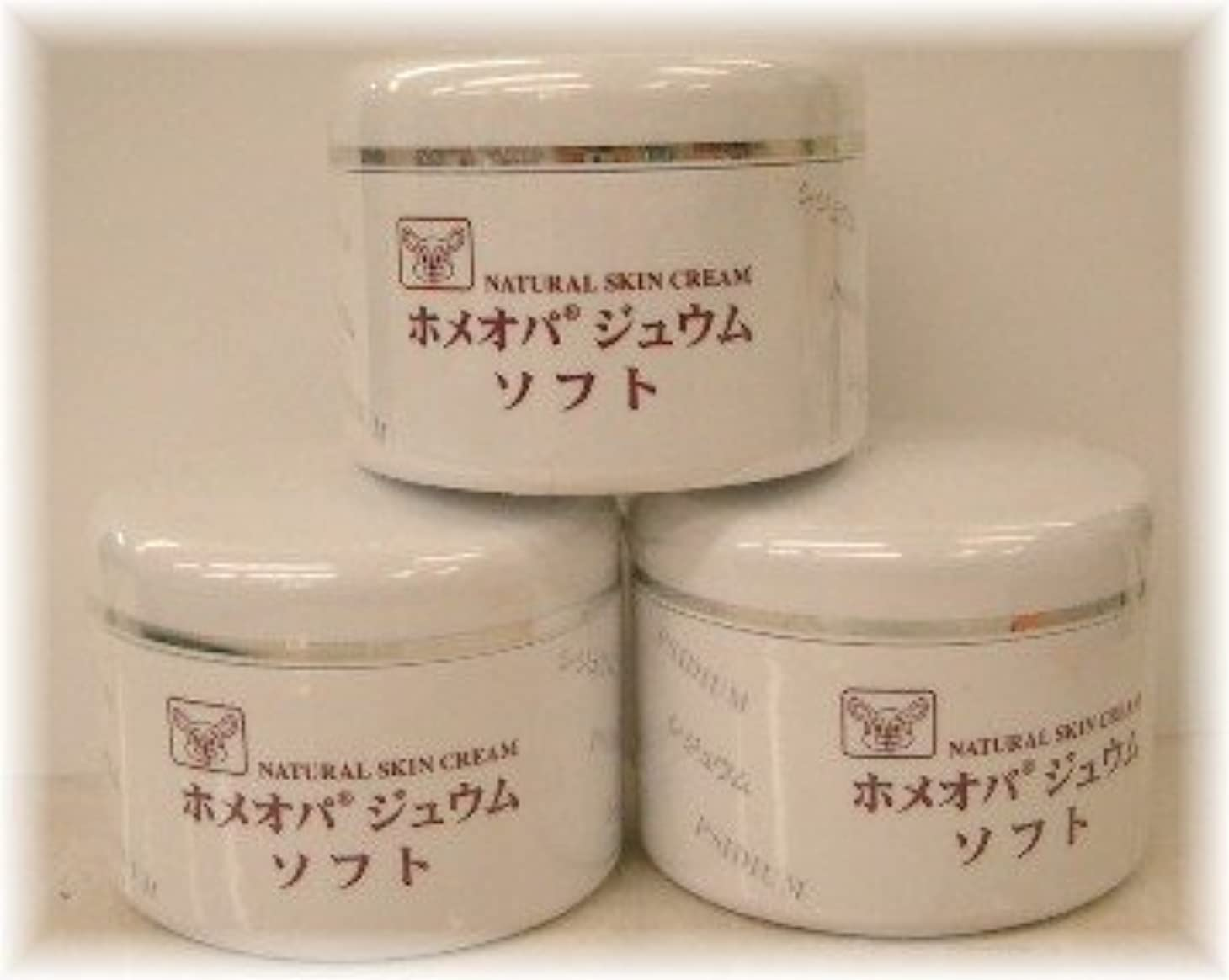 のれんフォーマット差し引くホメオパジュウム スキンケア商品3点¥10500クリームソフトx3個