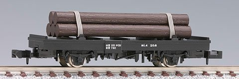 TOMIX Nゲージ 2720 国鉄貨車 チ1形タイプ (木材付)