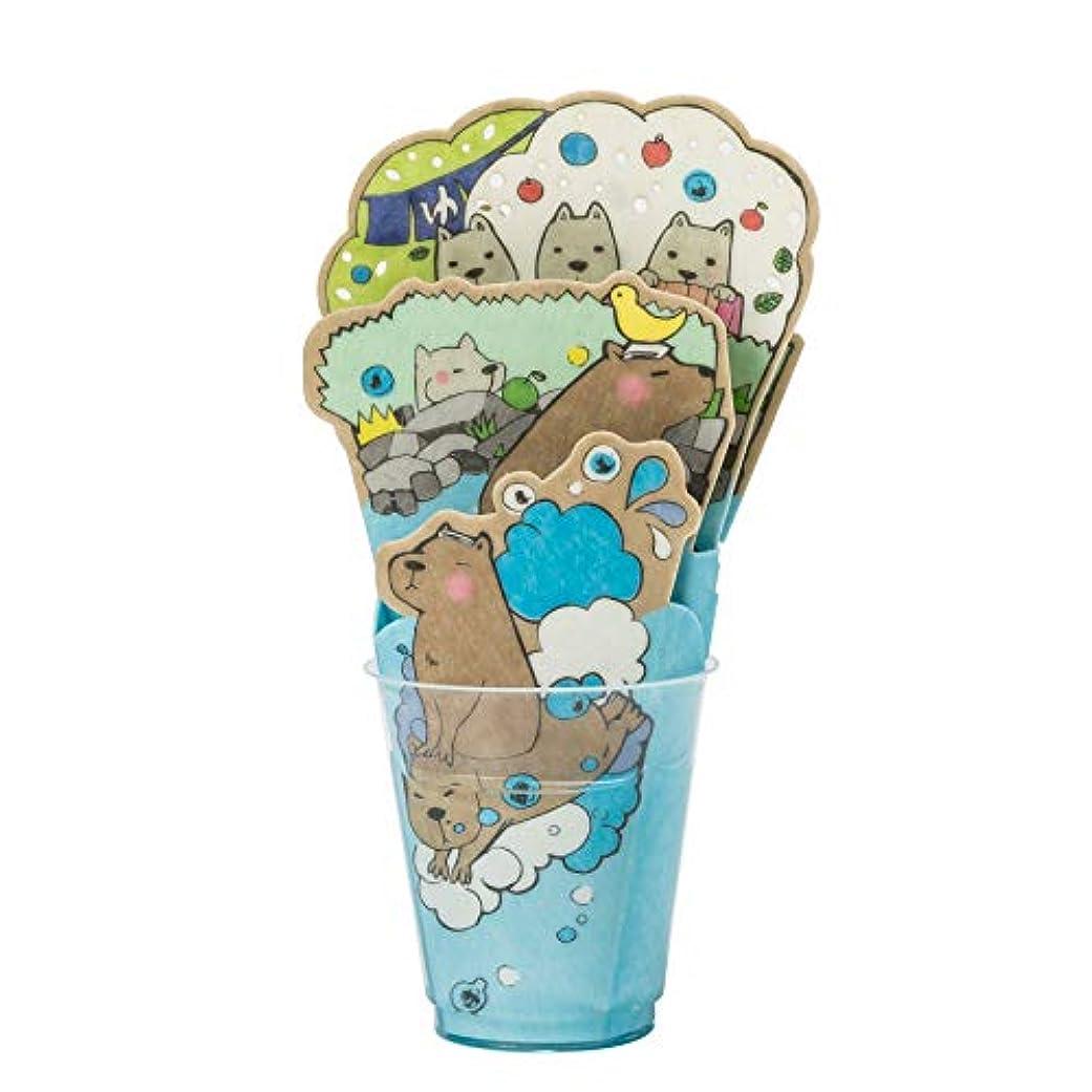はねかける増強するパンチ積水樹脂 自然気化式加湿器 お風呂に入る動物たち カピパラの仲間たち P-KA