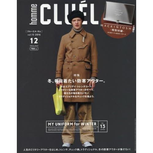 CLUEL homme(13) 2016年 12 月号 [雑誌]: CLUEL(クルーエル) 増刊