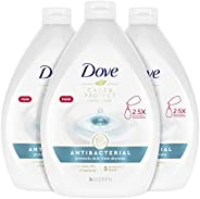 Dove Hand Wash For All Skin Types Antibacterial Protects from Skin Dryness 34 oz 3 Count
