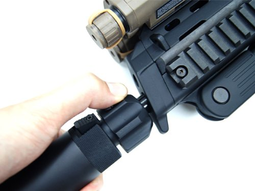 Details about MP7A1 dedicated QD suppressor replica MP7 fully compatible !!  H u0026 K engraved