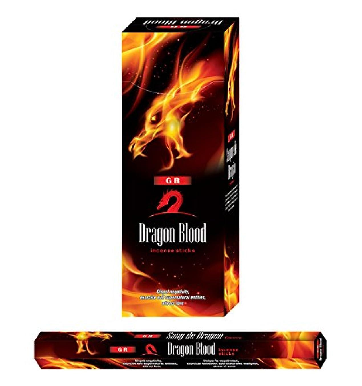 キロメートル学者統計GR Dragon 's Blood incense-120 Sticks