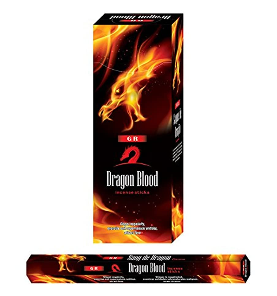 生産性参加するライドGR Dragon 's Blood incense-120 Sticks