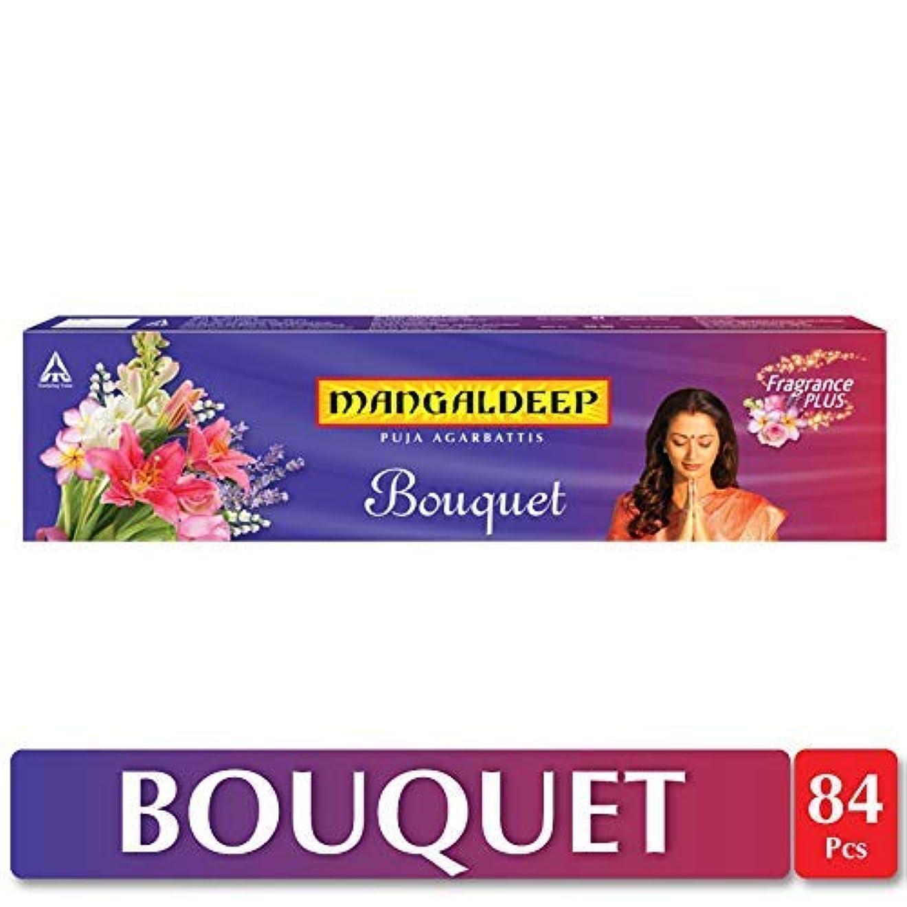 喜劇劇的暖かくMangaldeep Bouquet Agarbatti 84 Sticks