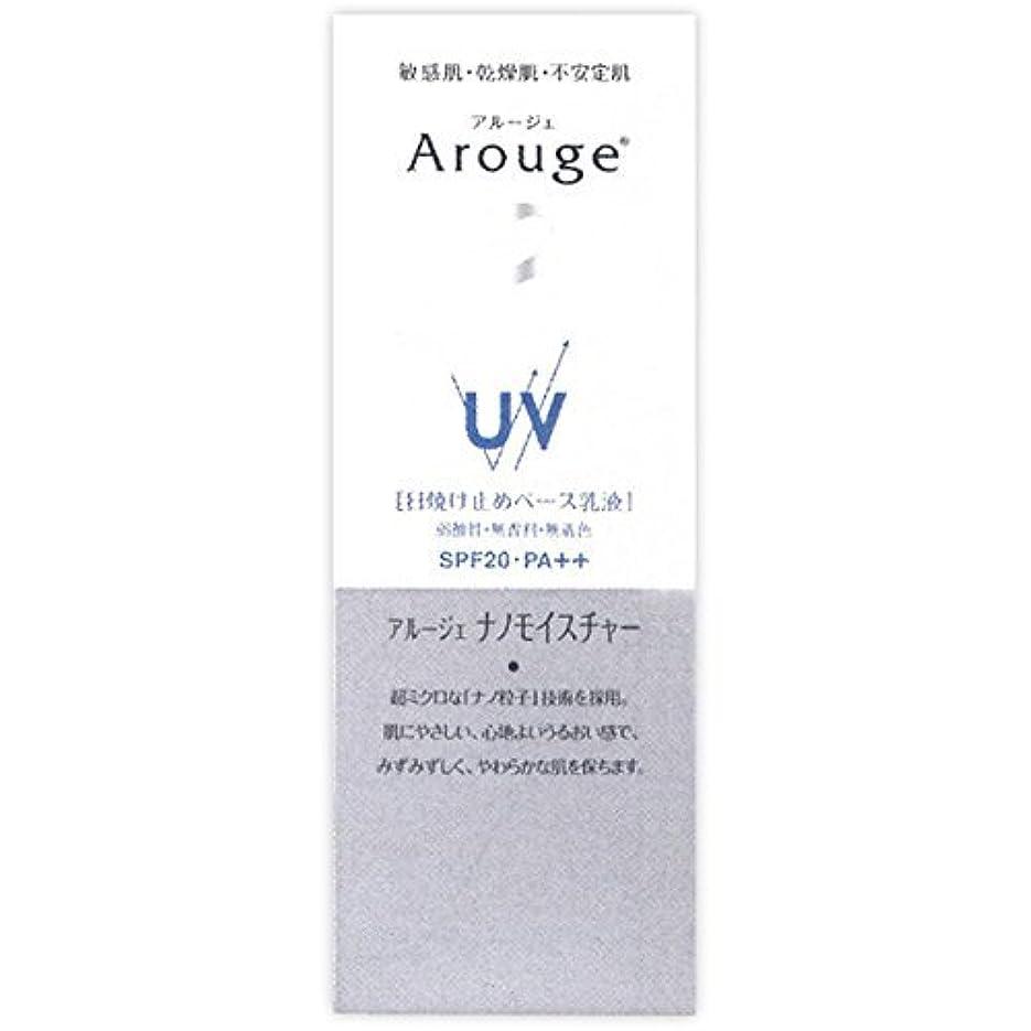 実験的ほこりキュービックアルージェ UV モイストビューティーアップ日焼け止めベース乳液25g (SPF20?PA++)