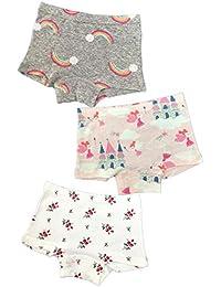 【ママ生まれ 北欧 ボクサーパンツ】女の子 パンツ 綿100% 女児 下着 綿 ショーツ キッズ ボクサー 子供 ガールズ ジュニア 幼児 小学生 3枚セット
