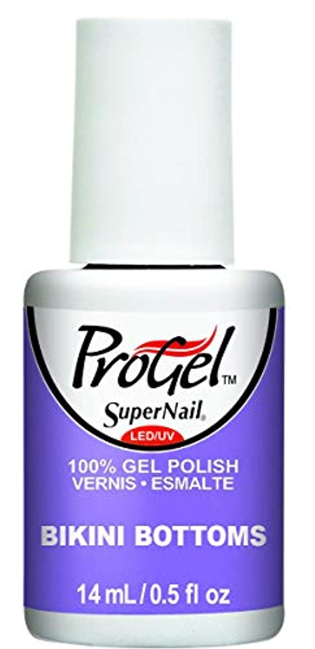 頻繁に硬さ悲観主義者SuperNail ProGel Gel Polish - Bikini Bottoms - 0.5oz / 14ml