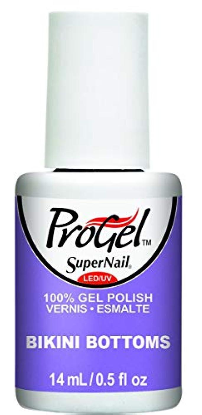 新しさトロイの木馬効果的にSuperNail ProGel Gel Polish - Bikini Bottoms - 0.5oz / 14ml