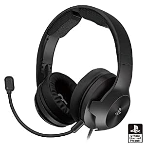 【SONYライセンス商品】ホリゲーミングヘッドセット ハイグレード for PlayStation®4 ブラック【PS4対応】