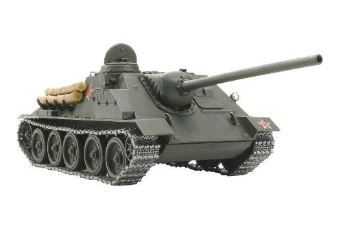 スケール限定シリーズ 1/25 ソビエト 襲撃砲戦車 SU-100 ジューコフ 25104