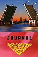 Journal: This cool cover notebook/journal comes in 6 x 9 with a nice city-motif, wide ruled line paper