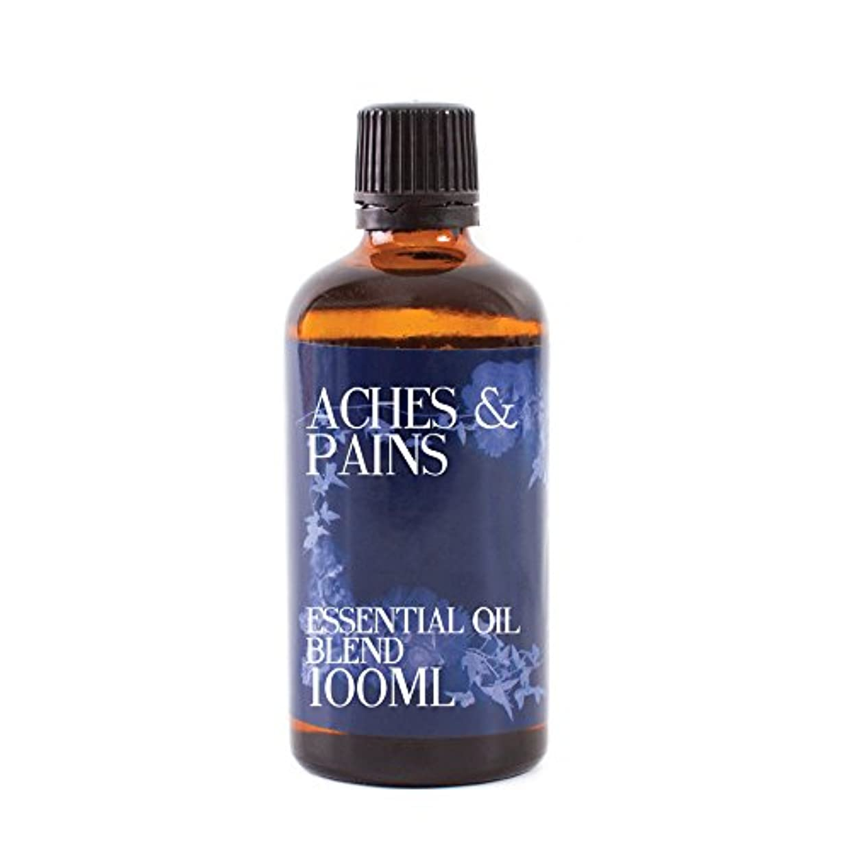 眠る葉を拾うオープナーMystic Moments | Aches and Pains Essential Oil Blend - 100ml - 100% Pure
