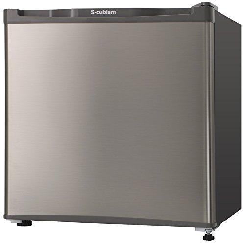 S-cubism 冷凍庫 1ドア 32L シルバー WFR-1032SL エスキュービズム