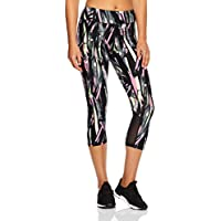 Calvin Klein Women's Explosion Print High Waist Crop Tight