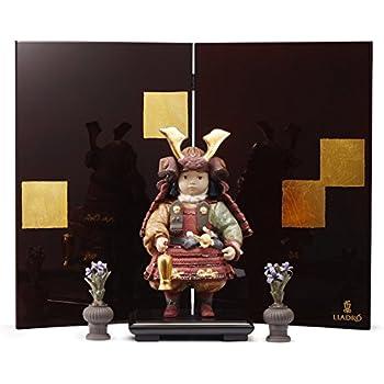 リヤドロ 五月人形 子供大将飾り 武者人形 Lladro 磁器人形 若武者60周年記念モデル フルセット 限定3500体 h315-01013045-fs