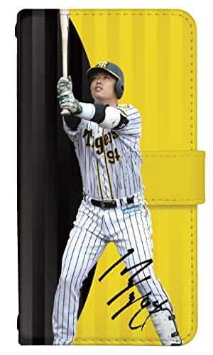 スマホケース 手帳型 iphone 5s ケース おしゃれ かっこいい 阪神タイガース 選手 野球 コラボ デザイン 0362-C. 原口 文仁 アイフォン 5s ケース 手帳型 [iPhone5s] アイフォン5s スマホゴ