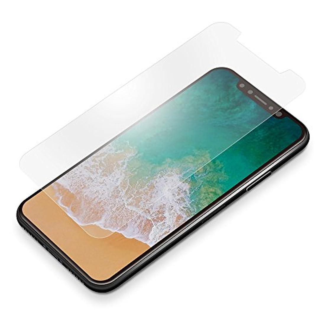 喜ぶ倉庫軽蔑PGA iPhone X フィルム 曲面追従TPU 液晶保護フィルム 衝撃吸収 アンチグレア PG-17XSF12 PG-17XSF12