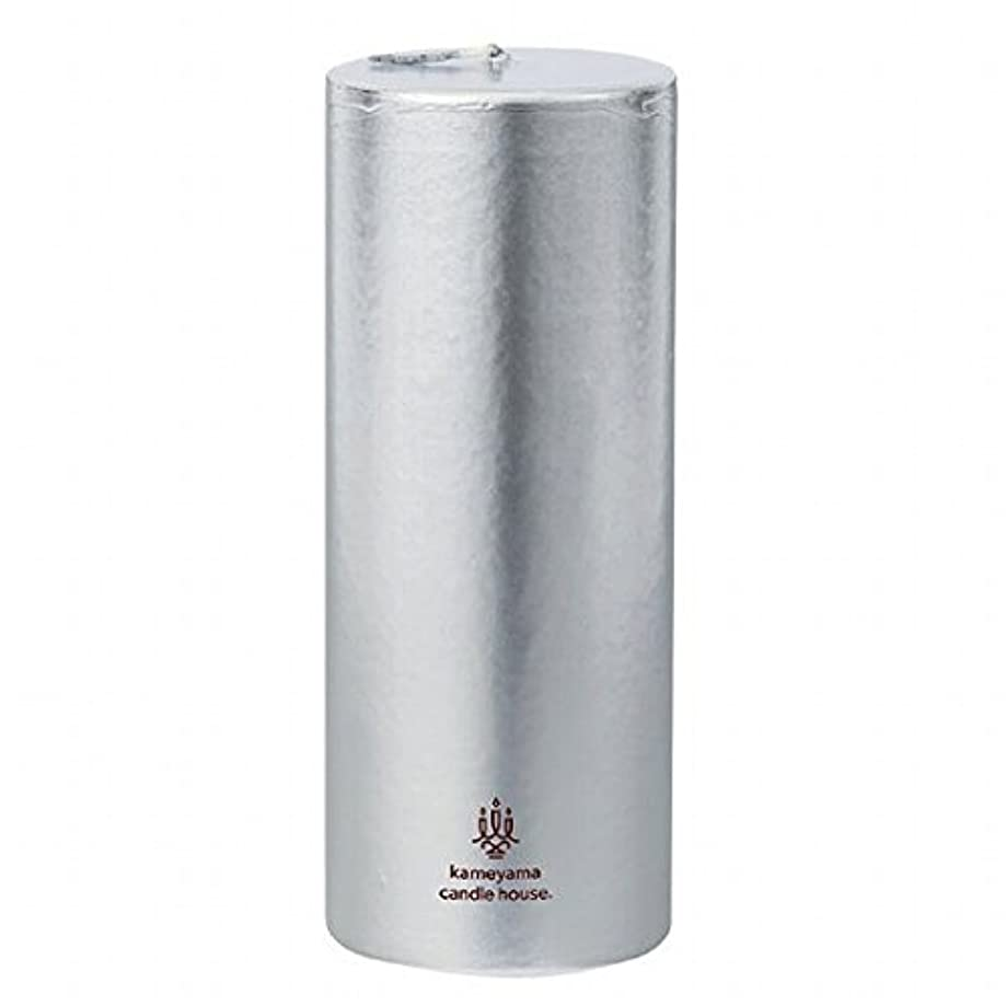 損なうプロポーショナルミケランジェロカメヤマキャンドル(kameyama candle) メタリックピラー2×5 「 シルバー 」
