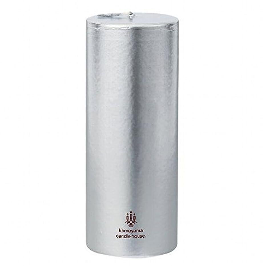 パスポートマスク側溝カメヤマキャンドル(kameyama candle) メタリックピラー2×5 「 シルバー 」