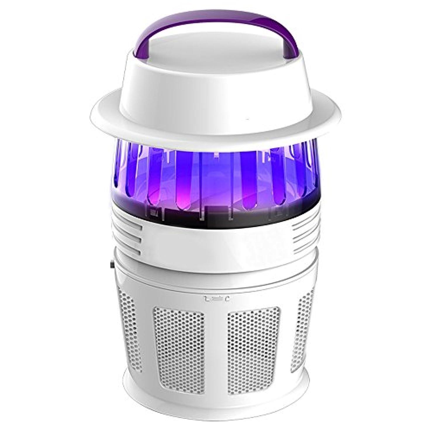蚊よけランプ 家庭用蚊ランプABS材料白蚊アーチファクト昆虫忌避剤UV蚊のプラグインタイプベッドルーム物理的な蚊の制御175 * 175 * 275ミリメートル 防虫灯