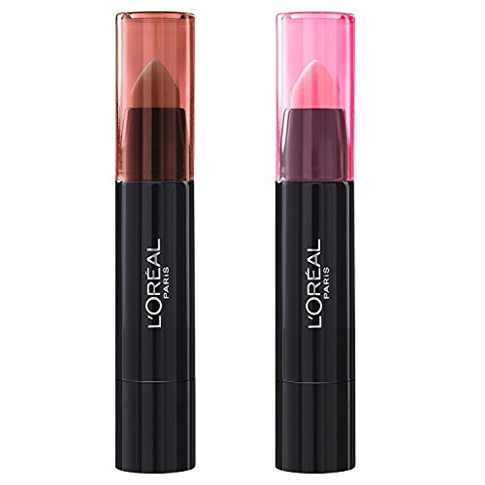 除外するベイビー排他的L'Oréal Paris Lippenbalsam INFAILLIBLE SEXY BALM - 108 Whaaat? + 101 We Wear Pink (2 Stück)