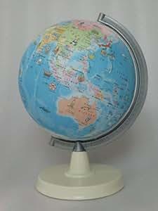 絵入りひらがな地球儀 21cm