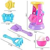 YanGbeau 大型ビーチおもちゃの車の子供の砂時計のシャベルのおもちゃ (Color : B)
